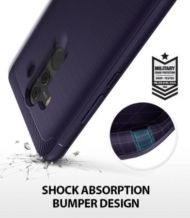 Husa Ringke Onyx Violet Pentru Huawei Mate 10 PRO5