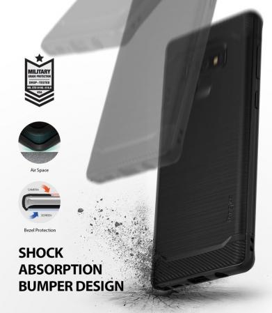Husa Ringke Onyx Black pentru Samsung Galaxy Note 92