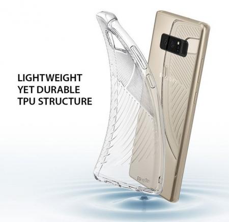 Husa Ringke Bevel Clear pentru Samsung Galaxy Note 86