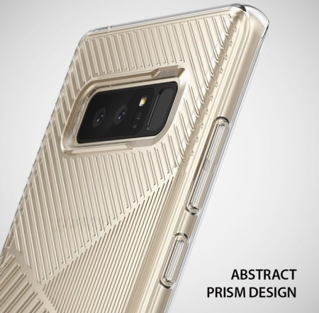 Husa Ringke Bevel Clear pentru Samsung Galaxy Note 82