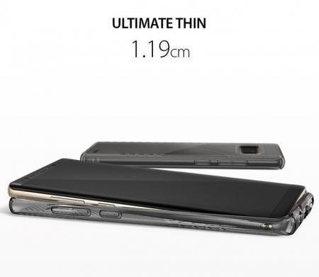 Husa Ringke Bevel Smoke Black pentru Samsung Galaxy Note 80