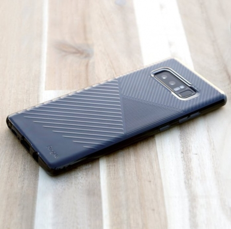 Husa Ringke Bevel Smoke Black pentru Samsung Galaxy Note 83