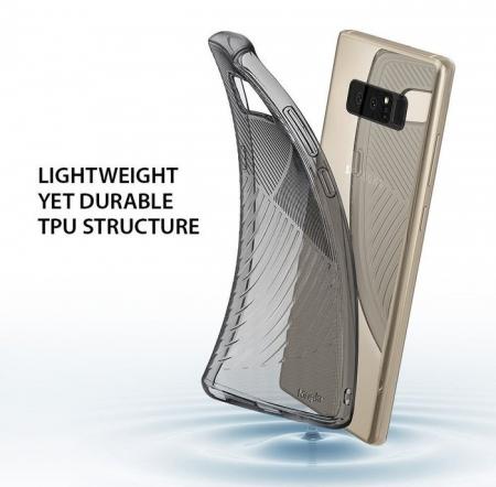 Husa Ringke Bevel Smoke Black pentru Samsung Galaxy Note 86