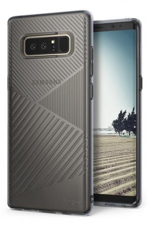 Husa Ringke Bevel Smoke Black pentru Samsung Galaxy Note 87