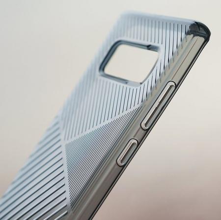 Husa Ringke Bevel Smoke Black pentru Samsung Galaxy Note 88