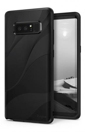Husa Ringke Wave Charcoal Black pentru Samsung Galaxy Note 80