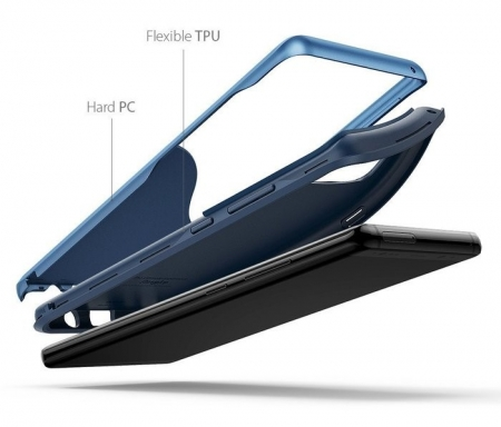 Husa Ringke Wave Coastal Blue pentru Samsung Galaxy Note 82