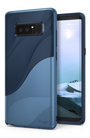Husa Ringke Wave Coastal Blue pentru Samsung Galaxy Note 87