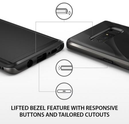 Husa Ringke Wave Metallic Chrome pentru Samsung Galaxy Note 81