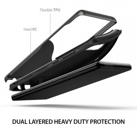 Husa Ringke Wave Metallic Chrome pentru Samsung Galaxy Note 82