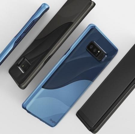 Husa Ringke Wave Metallic Chrome pentru Samsung Galaxy Note 84