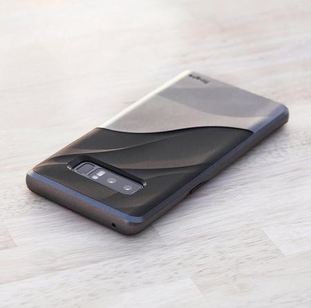 Husa Ringke Wave Metallic Chrome pentru Samsung Galaxy Note 88