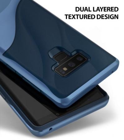 Husa Ringke Wave Blue pentru Samsung Galaxy Note 90