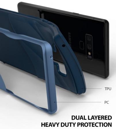 Husa Ringke Wave Blue pentru Samsung Galaxy Note 93