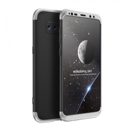 Husa GKK 360 Silver pentru Samsung Galaxy Note 80