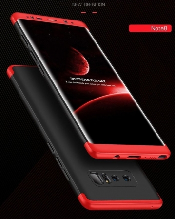 Husa GKK 360 Red pentru Samsung Galaxy Note 81