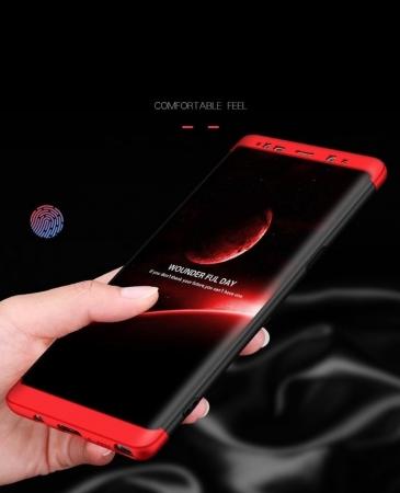 Husa GKK 360 Red pentru Samsung Galaxy Note 83