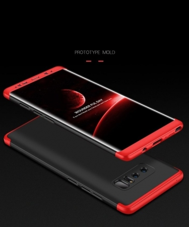 Husa GKK 360 Red pentru Samsung Galaxy Note 84