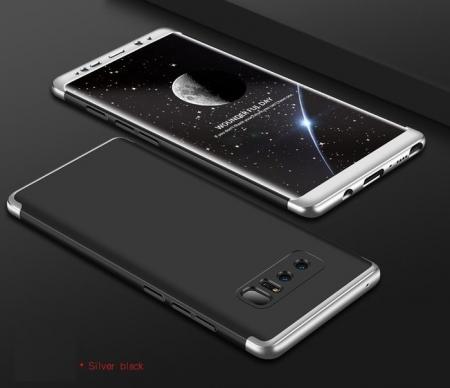 Husa GKK 360 Silver pentru Samsung Galaxy Note 82