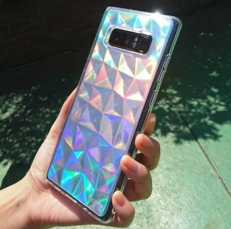 Husa Ringke Prism Glitter Gray pentru Samsung Galaxy Note 86