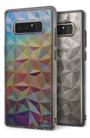 Husa Ringke Prism Glitter Gray pentru Samsung Galaxy Note 83