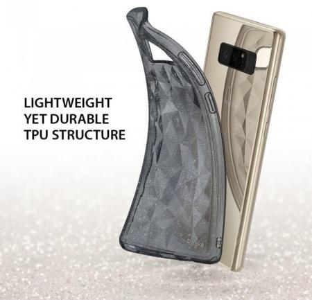 Husa Ringke Prism Glitter Gray pentru Samsung Galaxy Note 80