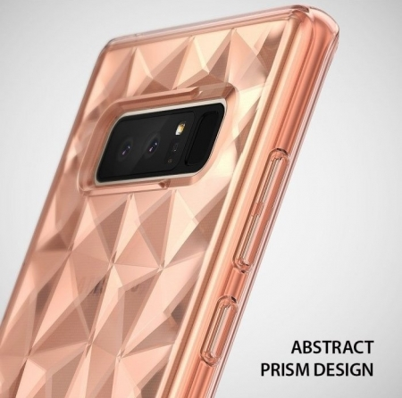 Husa Ringke Prism Rose Gold pentru Samsung Galaxy Note 85