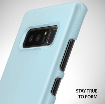 Husa Ringke Slim Sky Blue pentru Samsung Galaxy Note 85