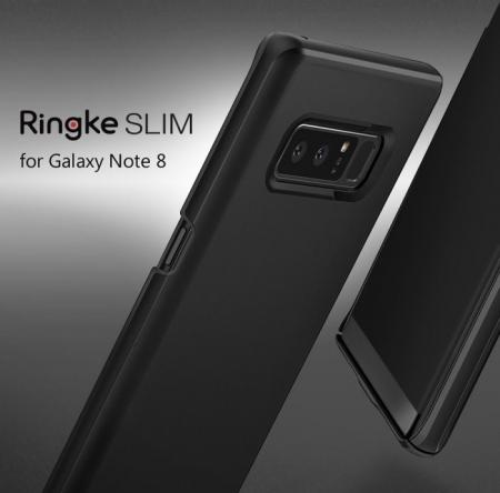 Husa Ringke Slim Sky Blue pentru Samsung Galaxy Note 81