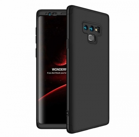 Husa GKK 360 Black pentru Samsung Galaxy Note 90