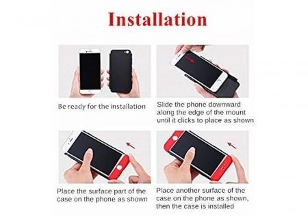 Husa GKK 360 Red pentru Samsung Galaxy Note 91