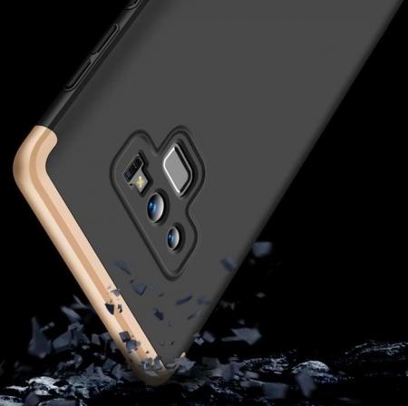 Husa GKK 360 Gold pentru Samsung Galaxy Note 92