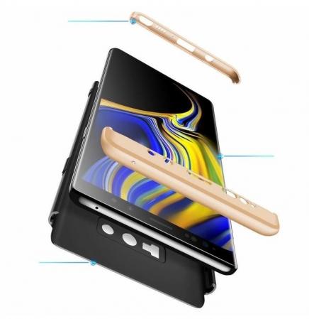 Husa GKK 360 Gold pentru Samsung Galaxy Note 90