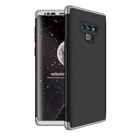 Husa GKK 360 Silver pentru Samsung Galaxy Note 90