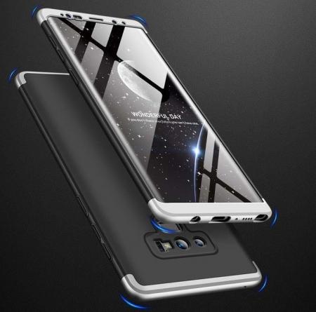 Husa GKK 360 Silver pentru Samsung Galaxy Note 92