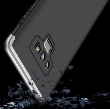 Husa GKK 360 Silver pentru Samsung Galaxy Note 93