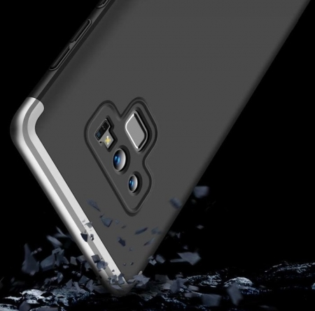 Husa GKK 360 Black pentru Samsung Galaxy Note 92