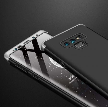 Husa GKK 360 Silver pentru Samsung Galaxy Note 94