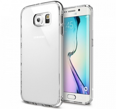 Husa Ringke FUSION CRYSTAL VIEW+BONUS folie protectie display Ringke pentru Samsung Galaxy S6 Edge0