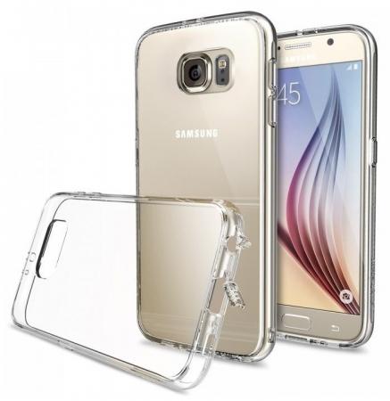 Husa Ringke FUSION CRYSTAL VIEW+BONUS folie protectie display Ringke pentru Samsung Galaxy S61