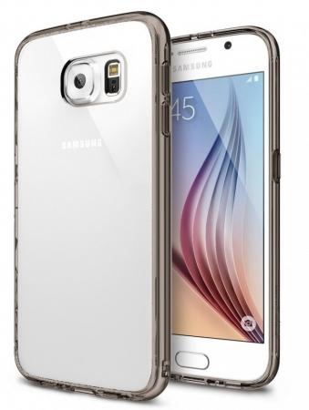 Husa Ringke FUSION SMOKE BLACK+BONUS folie protectie display Ringke pentru Samsung Galaxy S61