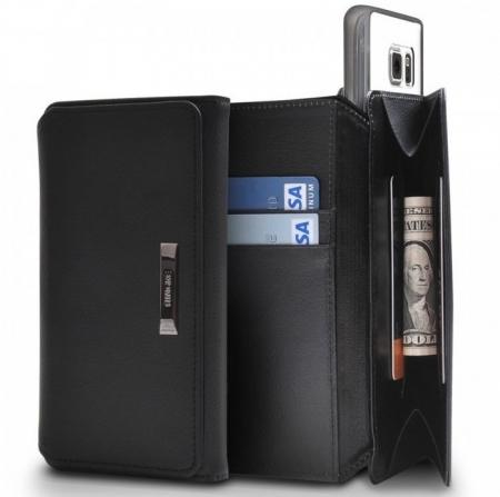 Husa Ringke WALLET ALB ALBASTRU pentru Samsung Galaxy S62
