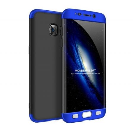 Husa GKK 360 Albastru pentru Samsung Galaxy S7 Edge0