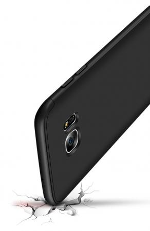 Husa GKK 360 Argintiu pentru Samsung Galaxy S7 Edge5
