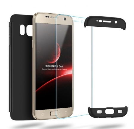 Husa GKK 360 Rosu pentru Samsung Galaxy S7 Edge4