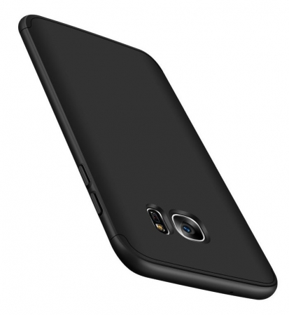 Husa GKK 360 Argintiu pentru Samsung Galaxy S7 Edge3
