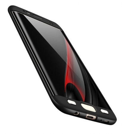 Husa GKK 360 Argintiu pentru Samsung Galaxy S7 Edge2