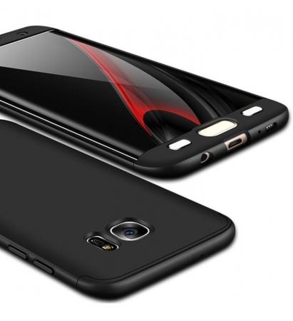 Husa GKK 360 Argintiu pentru Samsung Galaxy S7 Edge1