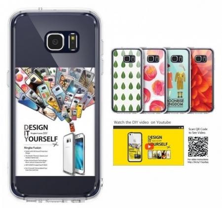 Husa Ringke FUSION ROSE GOLD pentru Samsung Galaxy S7 Edge7