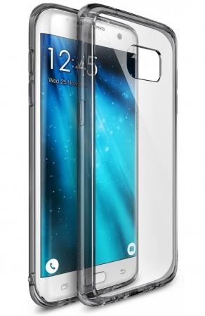 Husa Ringke FUSION SMOKE BLACK pentru Samsung Galaxy S70